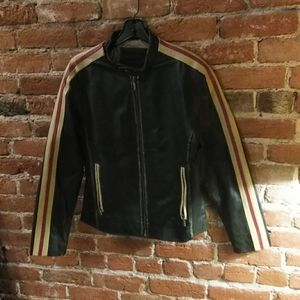 Dona Michi Leather racing jacket